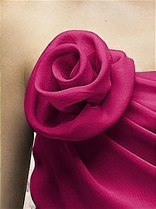 CLOSEOUT-Large Crinkle Chiffon Flower
