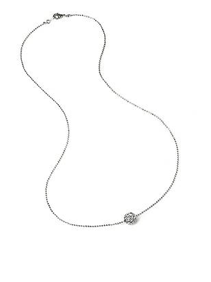 Floating Swarovski Crystal Ball Necklace http://www.dessy.com/accessories/swarovski-crystal-pendant-necklace/