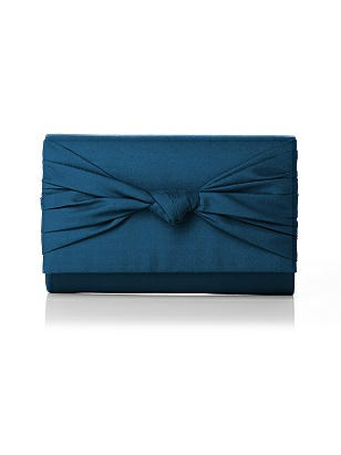 Silk Faille Knot Clutch http://www.dessy.com/accessories/silk-faille-knot-clutch/
