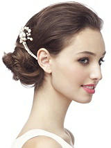 Pearl Spray Haircomb