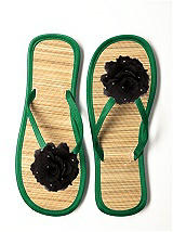 Glimmer Flower Trimmed Bridesmaid Flip Flop