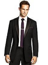 Men's Skinny Tie in Duchess Satin