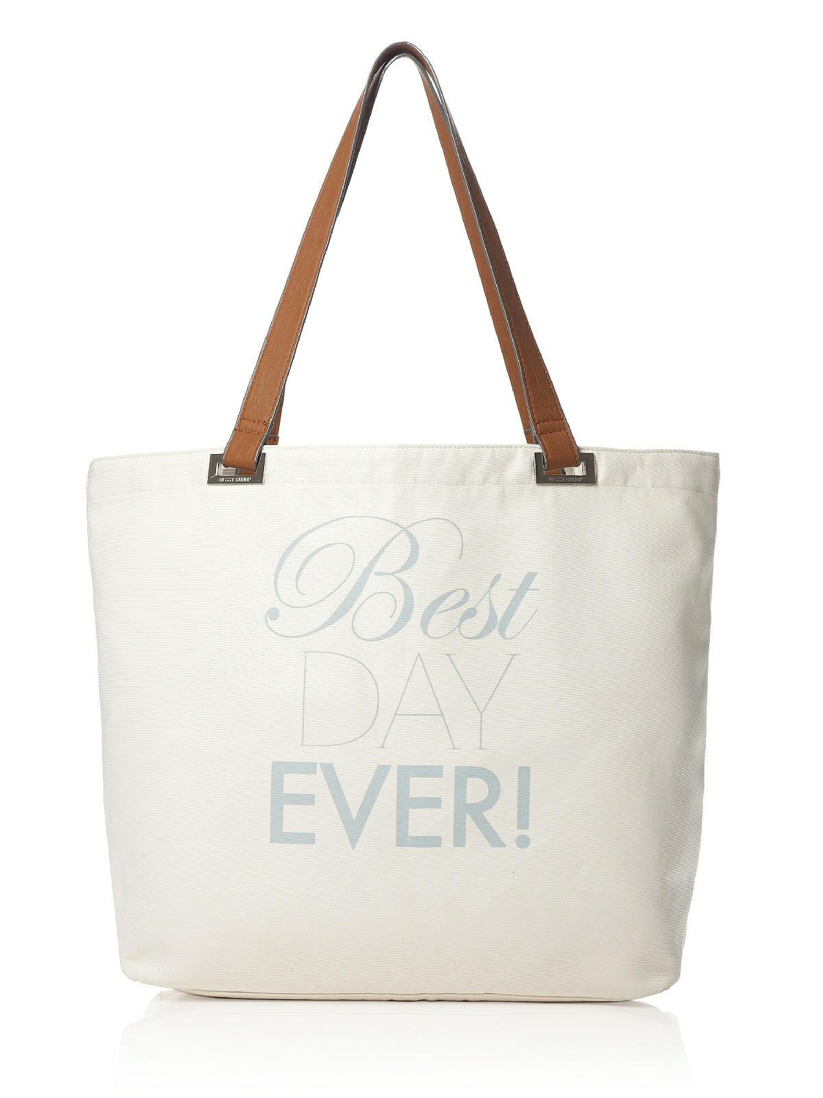 beach wedding tote