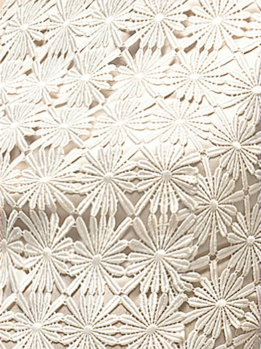 daisy lace fabric