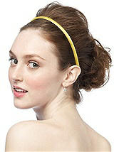 Dupioni Covered Headband