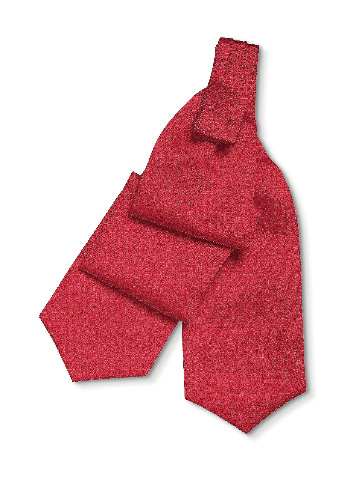scarlet cravat for bridegroom