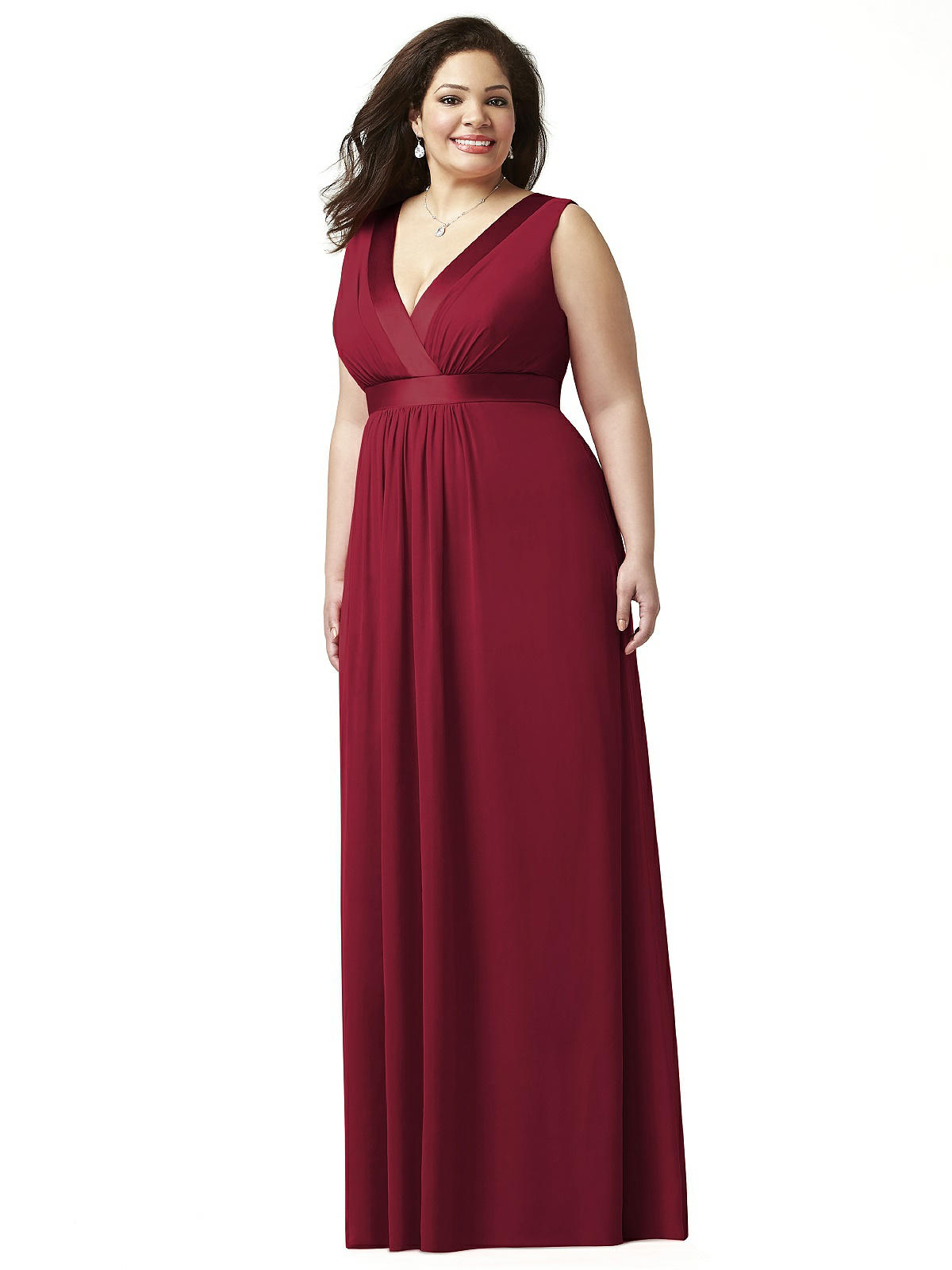 plus size bridesmaid dresses burgundy