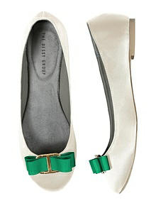 Modern Grosgrain Shoe Clip