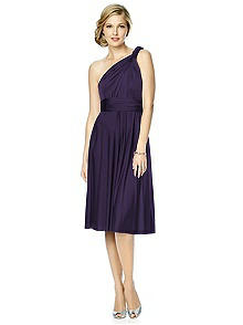 Maracaine Jersey Twist Wrap Dress : Short