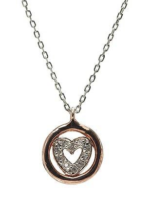 CZ Heart Charm Necklace http://www.dessy.com/accessories/cz-heart-charm-necklace/