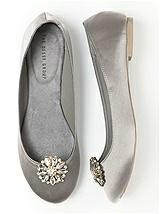 Jeweled Sunflower Shoe Clip