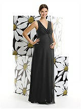 Alfred Sung Maternity Bridesmaid Dress M406