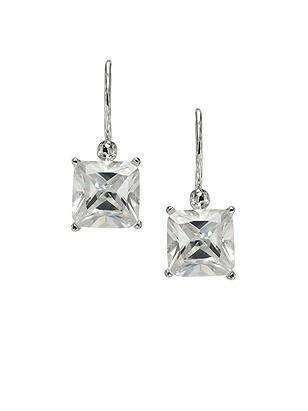 Princess Cut CZ Earrings http://www.dessy.com/accessories/princess-cut-cz-earrings-/