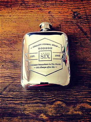 After Six Limited Edition Pewter Flask http://www.dessy.com/tuxedos/after-six-edition-pewter-flask/