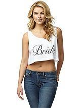 Bride Crop Tank
