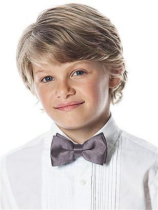 Boy's Clip Bow Tie in Silk Shantung http://www.dessy.com/accessories/boys-clip-silk-shantung-bow-tie/