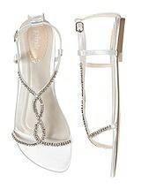 Heaven Dyeable Crystal Bridal Sandal